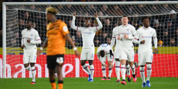 Batshuayi celebrates after scoring against Hull City